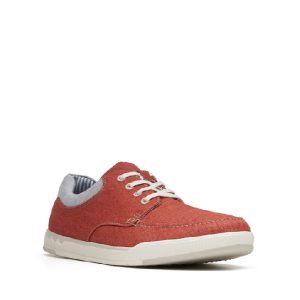 Clarks - Step Isle Lace - Orange