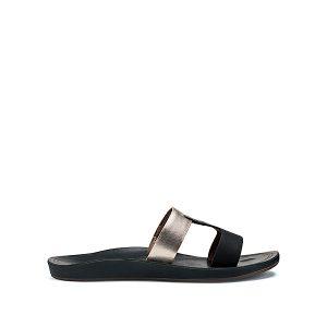 olukai-kaekae-lile-20375-402k-noir-argent-cuir-sandale-femme