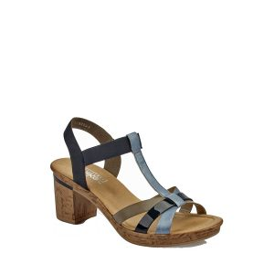 riecker-v4598-10-FSK19-marine-cuir-sandale-femme