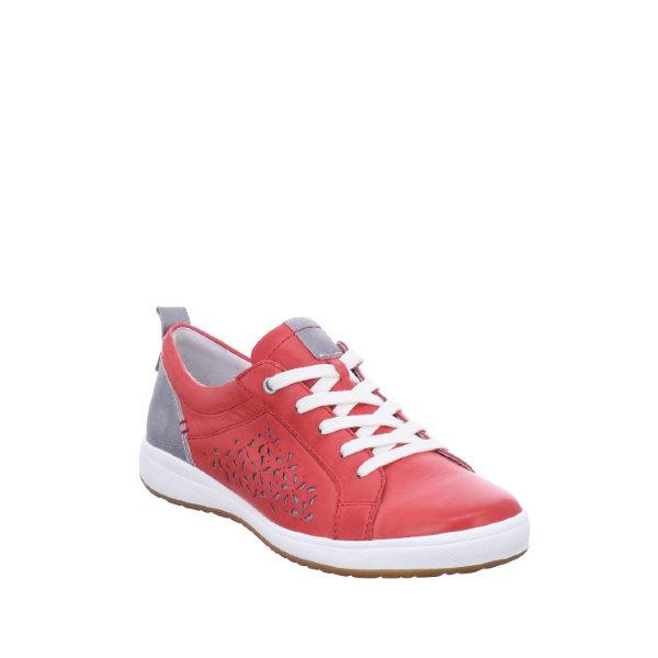 Caren 06 - Chaussure pour femme en cuir couleur rouge de marque Josef Seibel