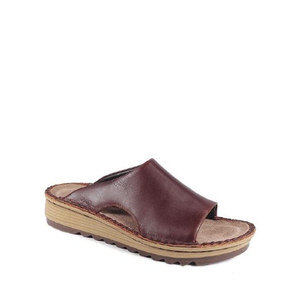 Ardisia - Sandale femme couleur buffalo en cuir de marque Naot