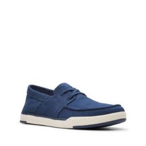 Step Isle base - Chaussure pour homme en textile couleur marine de marque Clarks