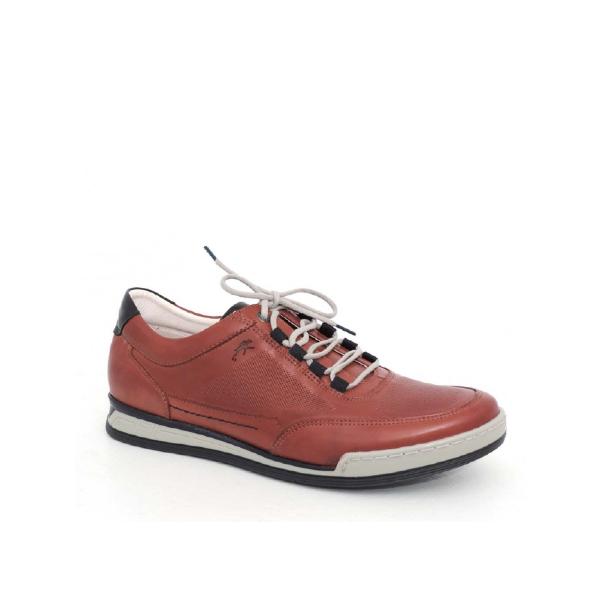 Etna - Chaussure pour homme en cuir couleur cognic de marque Fluchos