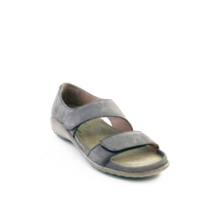 Manawa - Sandale pour femme en cuir couleur shiitake beige de marque Naot