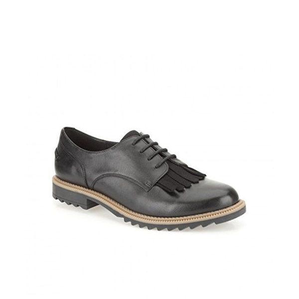 Griffin Mable - Chaussure pour femme en nubuck couleur noir de marque Clarks