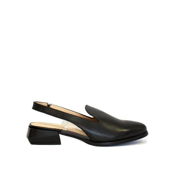 C-6002 - Chaussure pour femme en cuir couleur noir de marque Wonders
