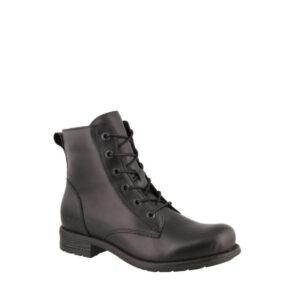 Boot Camp - Bottillon pour femme en cuir couleur noir de marque Taos