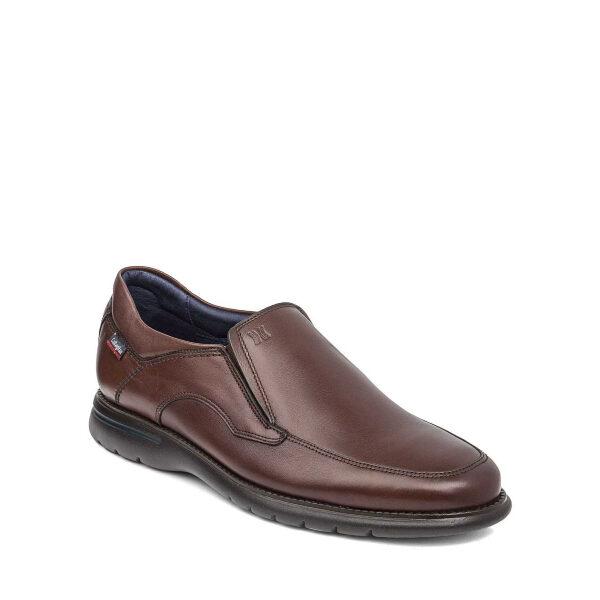 Parkline - Chaussure pour homme en cuir couleur cognac de marque Callaghan