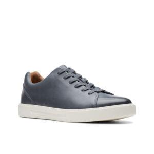 Un Costa Lace - Chaussure pour homme en cuir couleur marine de marque Clarks