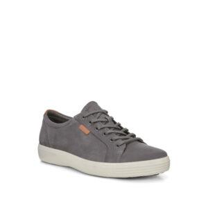 Soft 7 - Chaussure pour homme en cuir couleur gris drago de marque Ecco