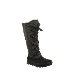 931 - Botte pour femme en textile couleur noir de marque Legero