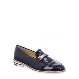 Kade- Chaussure pour femme en cuir verni couleur marine de marque Ara