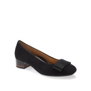 Garnet - Chaussure pour femme en suede couleur noir de marque Ara