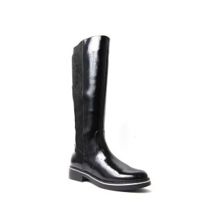 Petula - Botte pour femme en cuir couleur noir de marque Valdini