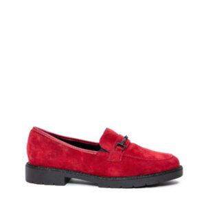 Maddy - Chaussure pour femme en suede couleur rouge de marque Ara