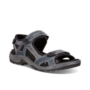Offroad - Sandale pour homme en cuir couleur marine de marque Ecco