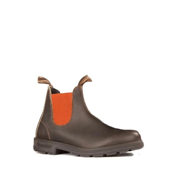 1918 - Bottillon pour unisex en cuir couleur brun de marque Blondstone