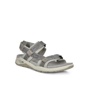 X-Trinsic - Sandale pour femme en textile de couleur gris de marque Ecco