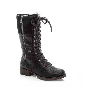 Z9593-00 - Botte pour femme en synthetique couleur noir de marque Rieker